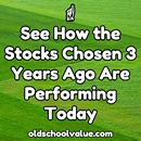 See How These Stocks Chosen 3 Years Ago Are Performing Today