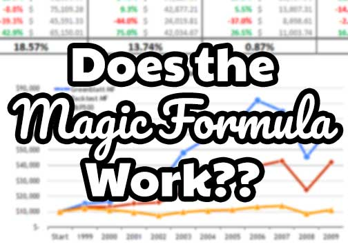 does the magic formula work