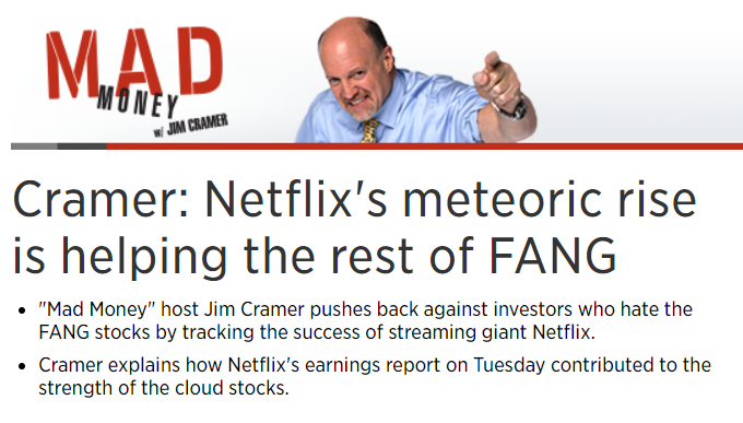 Jim Cramer and his FANG
