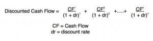 value stocks using DCF