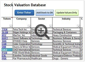 stock valuation log book